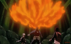 Obito using Fireball Technique