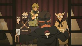 Obito arrives late for Photo