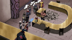 Obito vs Five Kage